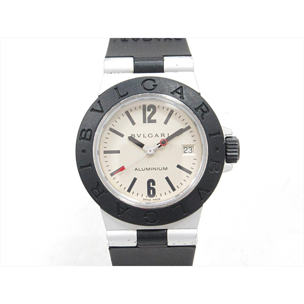 【最大24回無金利】 ブルガリ アルミニウム 腕時計 ウォッチ 時計 レディース アルミニウムxラバーベルト (AL29A) 【中古】 | BVLGARI BRANDOFF ブランドオフ ブランド ブランド時計 ブランド腕時計