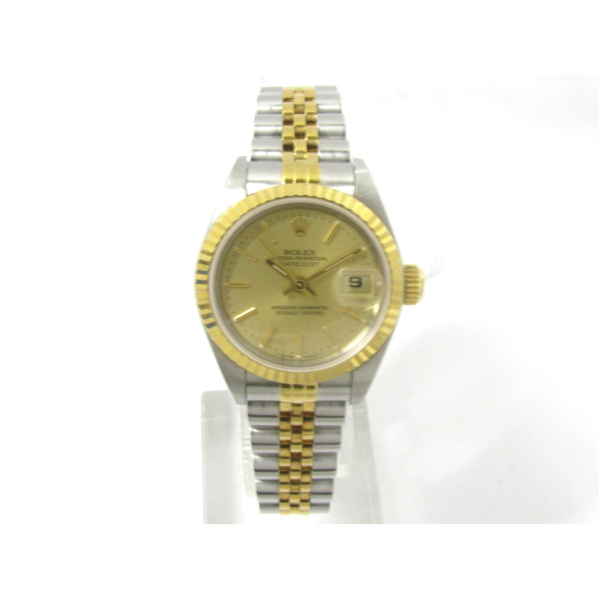 Authentic ROLEX Datejust watch Women stainless steel (SS)XK18YG (yellow  gold) gold (69173) 611c34ce01