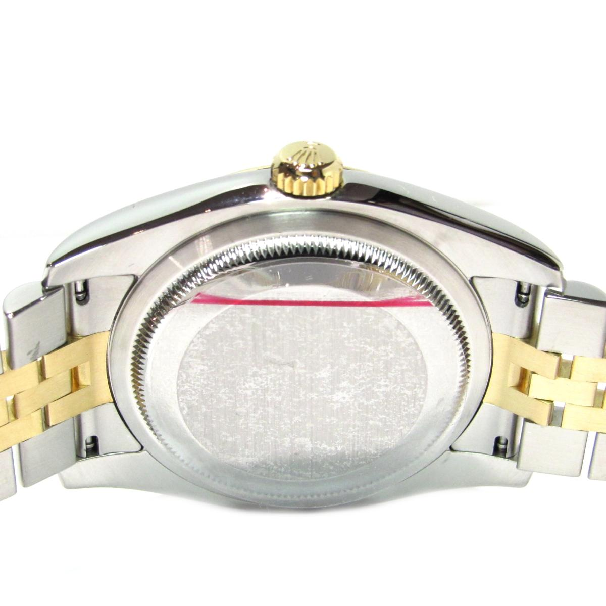 innovative design 786d2 34562 Authentic ROLEX Datejust Watch Men Stainless Steel Yellow Gold (116233G)