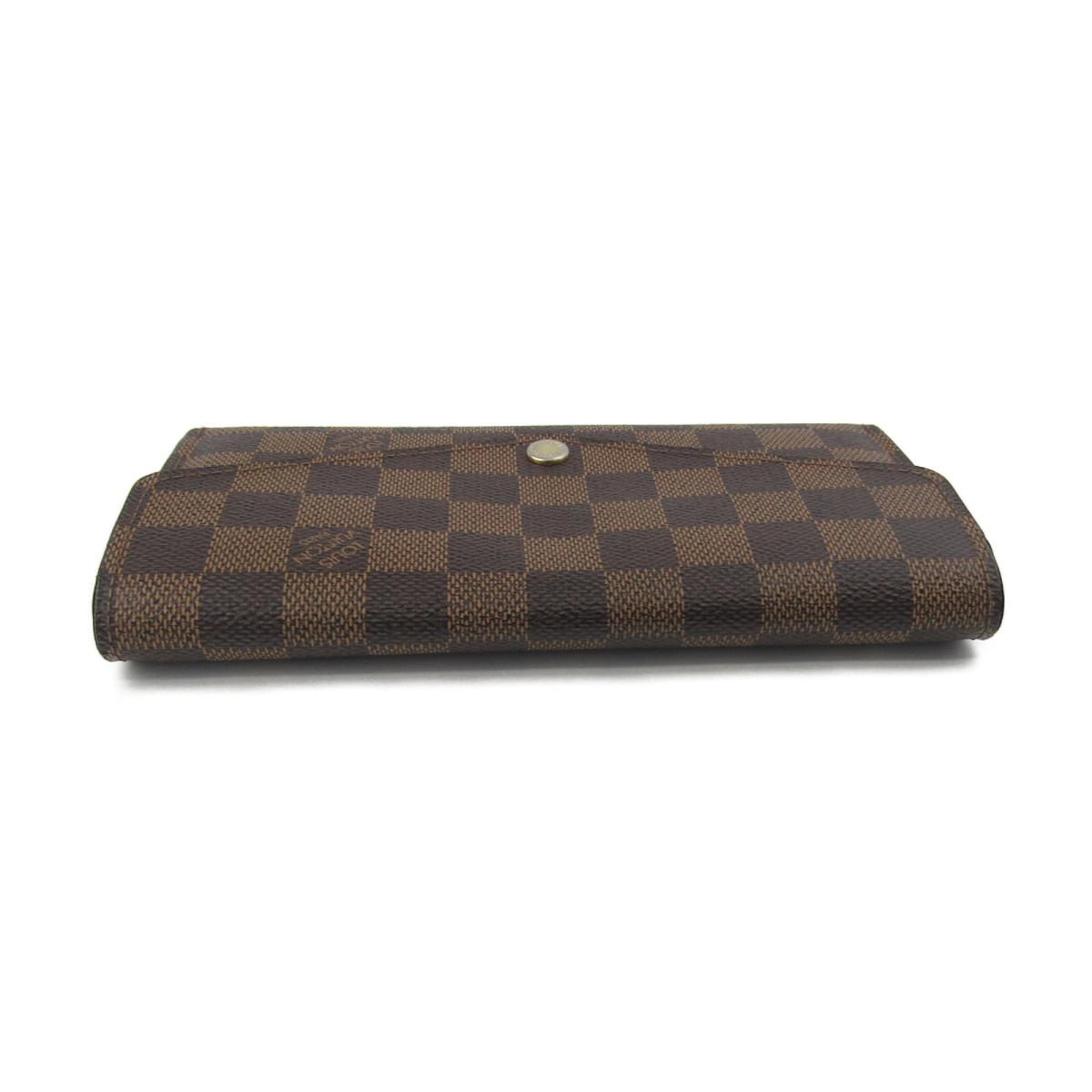 b52f32eecc036 BRANDOFF  Authentic LOUIS VUITTON Sarah Wallet Purse N63209 Damier ...