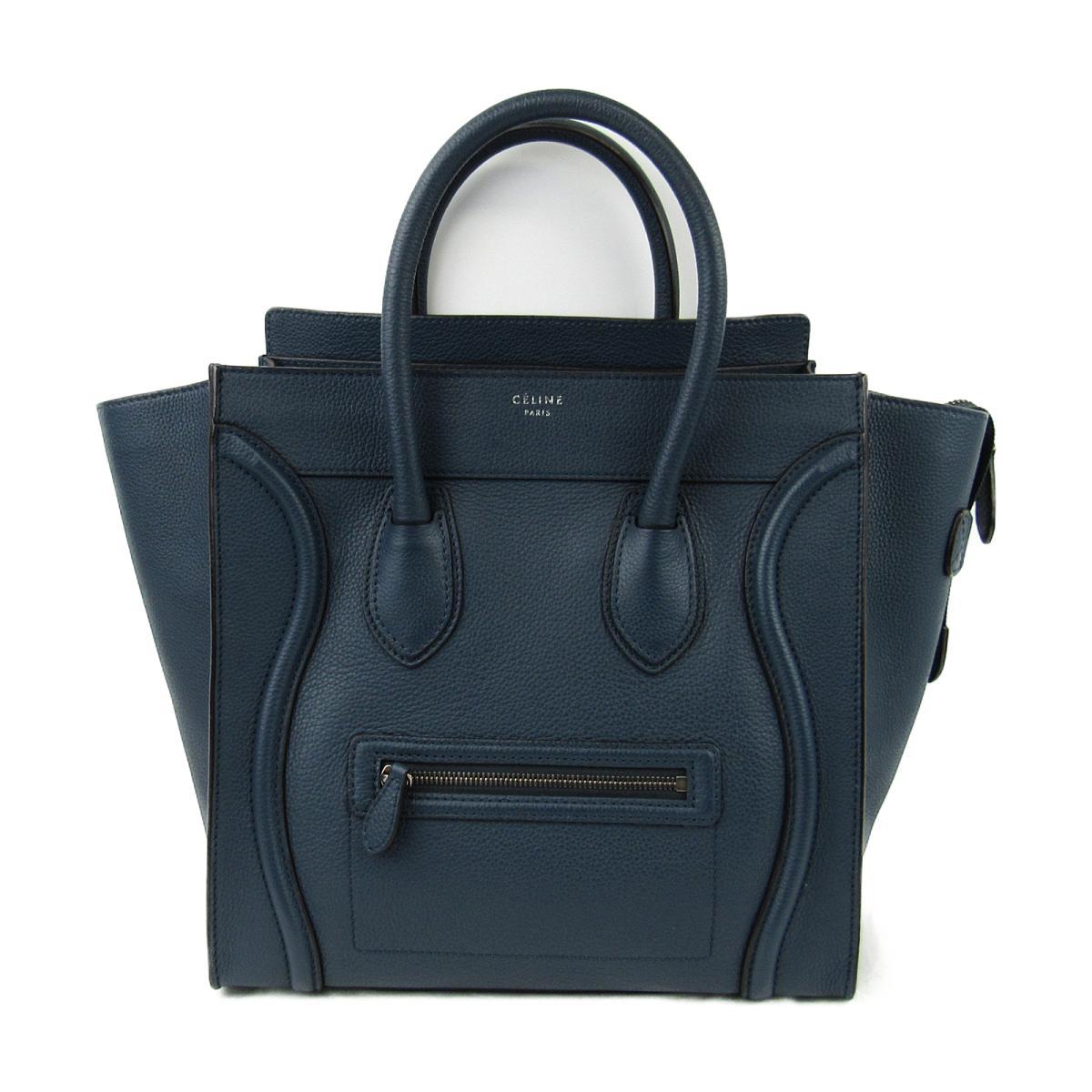 81e098ecddfe BRANDOFF  Authentic CELINE Luggage Mini Shopper Tote Bag HandBag ...