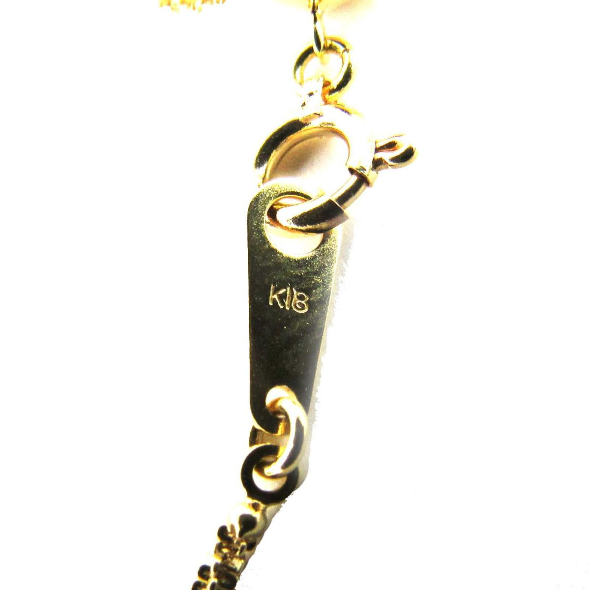 ジュエリー ダイヤモンド ネックレス ノーブランドジュエリー レディース K18YG750イエローゴールド x ダイヤモンド0 02ctJEWELRY BRANDOFF ブランドオフ アクセサリー ペンダントOPkuXZi