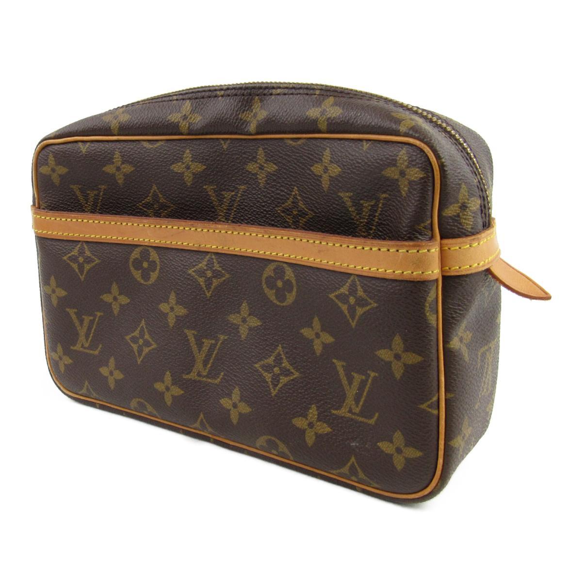1fd73d3df46e BRANDOFF  Auth LOUIS VUITTON Compiegne 23 clutch bag second bag M51847  Monogram Used