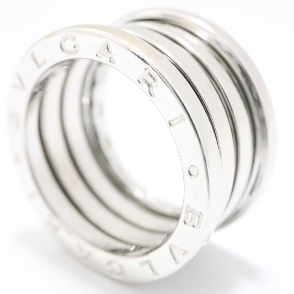 0809001294a8 ... ブルガリB-zero1リングMサイズ指輪ブランドジュエリーユニセックスK18WG( ...