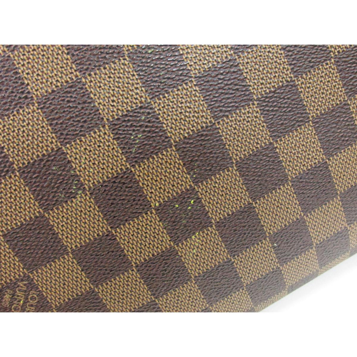 1c21eb298612 (Free shipping) Auth LOUIS VUITTON Saint Louis Clutch Bag N51993 Damier  Used Vintage
