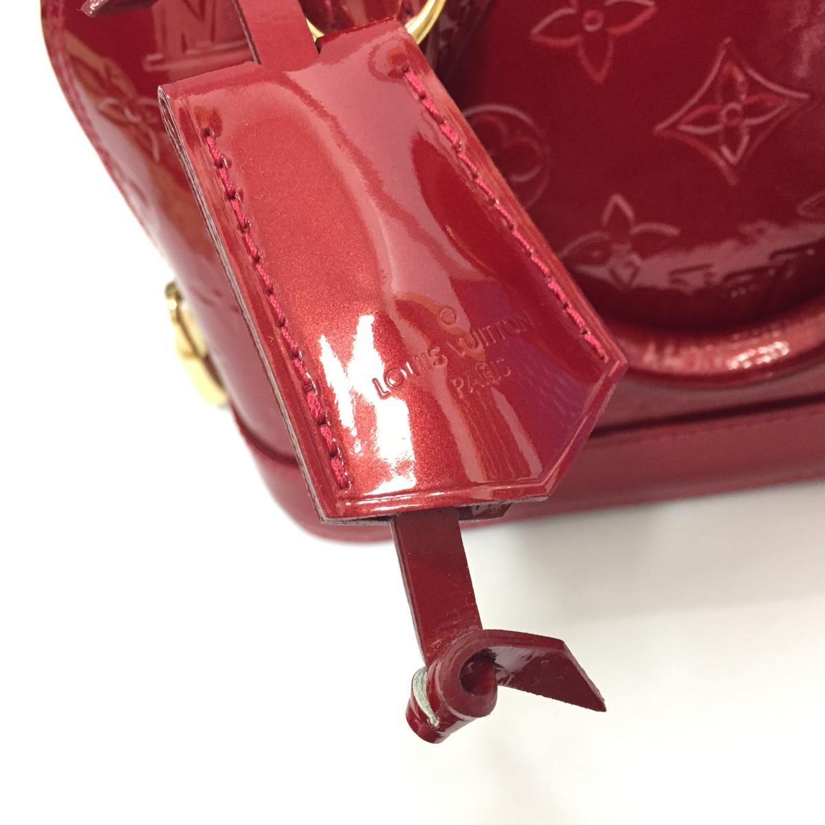 6ee79f9c69e6 BRANDOFF  Auth LOUIS VUITTON Alma BB shoulder hand bag M91771 Vernis ...