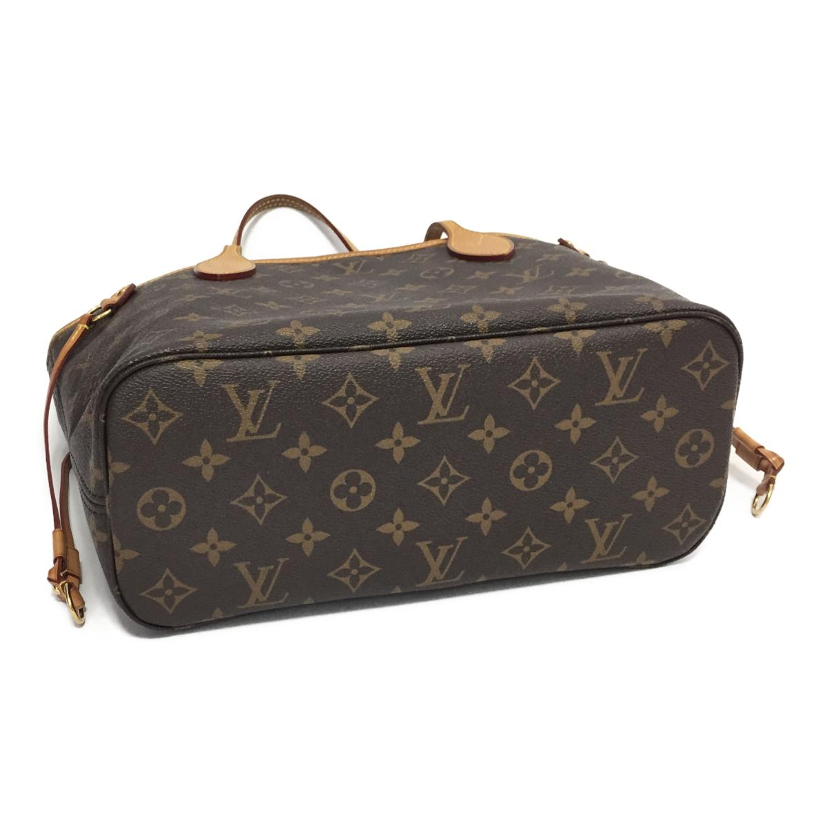 304084404518 (Free shipping) Auth LOUIS VUITTON Neverfull PM tote bag M40155 Monogram  Used Vintage