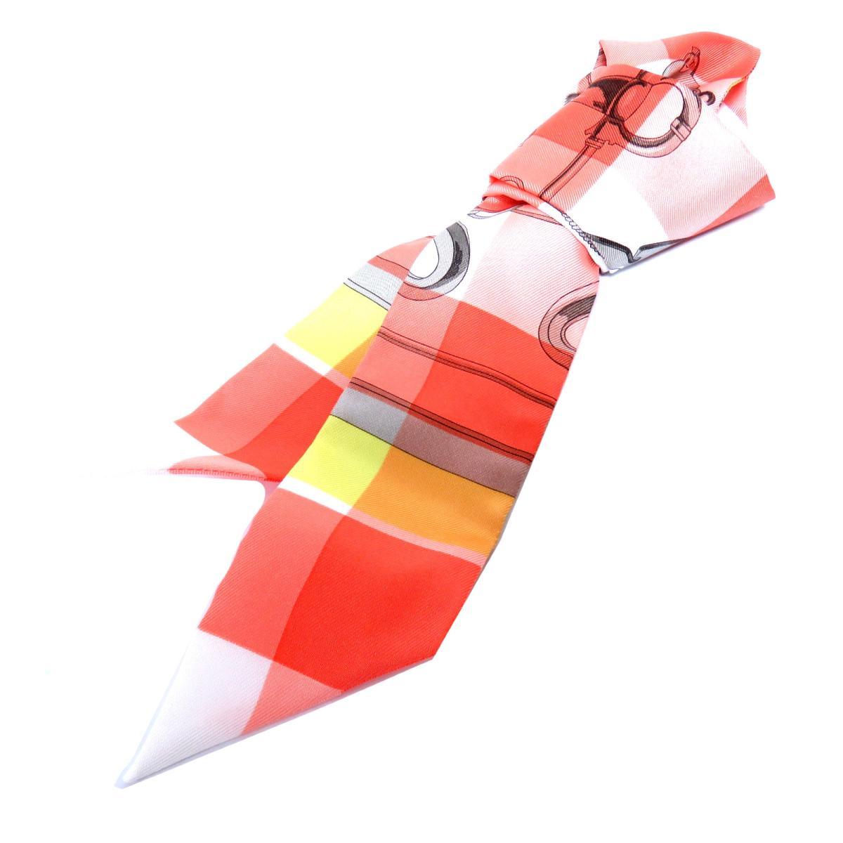 エルメス トゥイリー スカーフ 衣料品 レディース シルク SAUMON/CITORON | HERMES BRANDOFF ブランドオフ ブランド