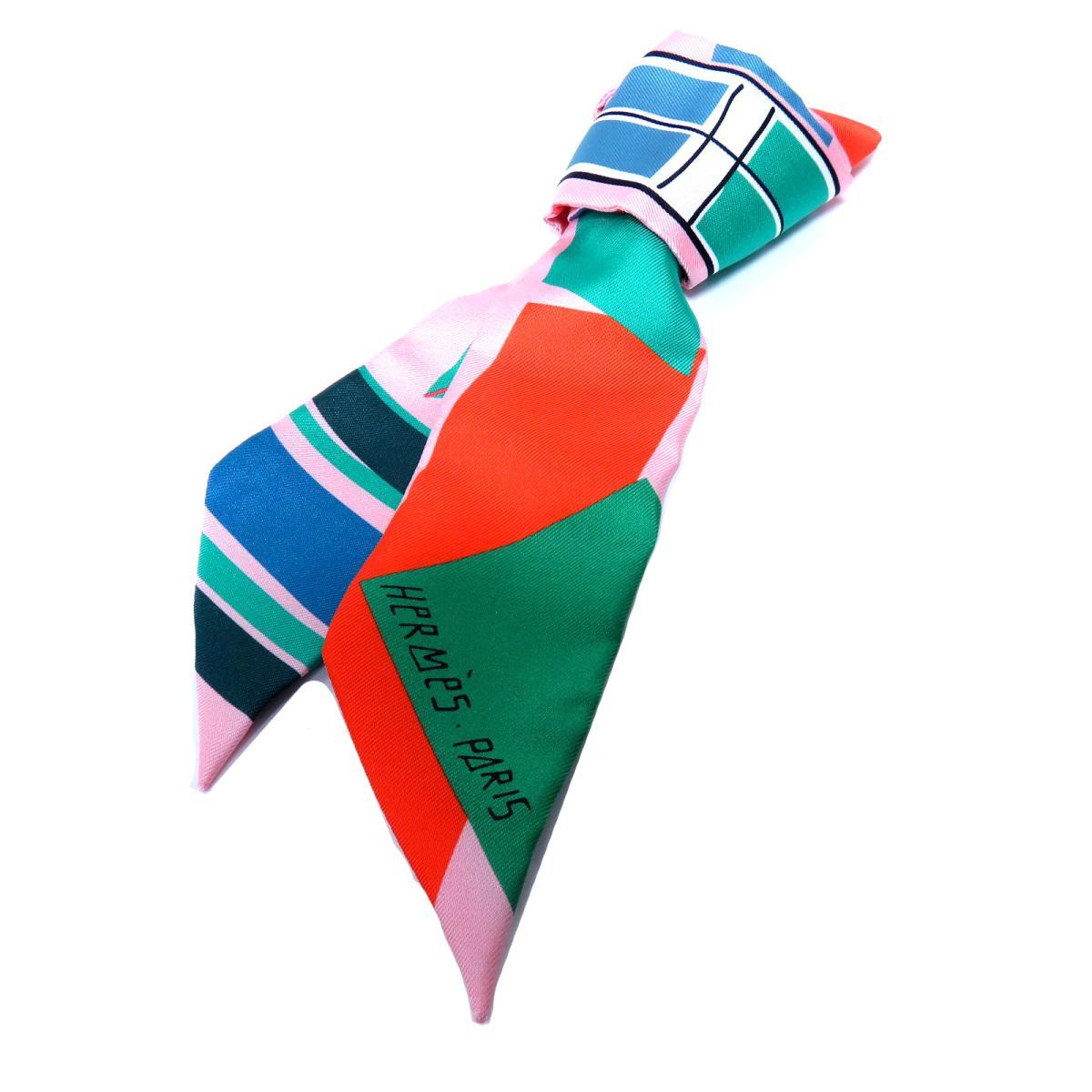 エルメス トゥイリー スカーフ 衣料品 レディース シルク ROSE/VERMILLON | HERMES BRANDOFF ブランドオフ ブランド