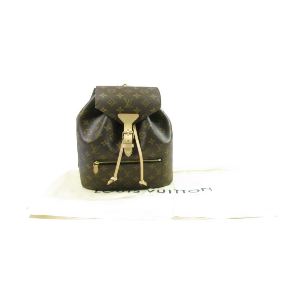 ac0ebee094 BRANDOFF  Auth LOUIS VUITTON Montsouris Backpack Bag Monogram Canvas ...
