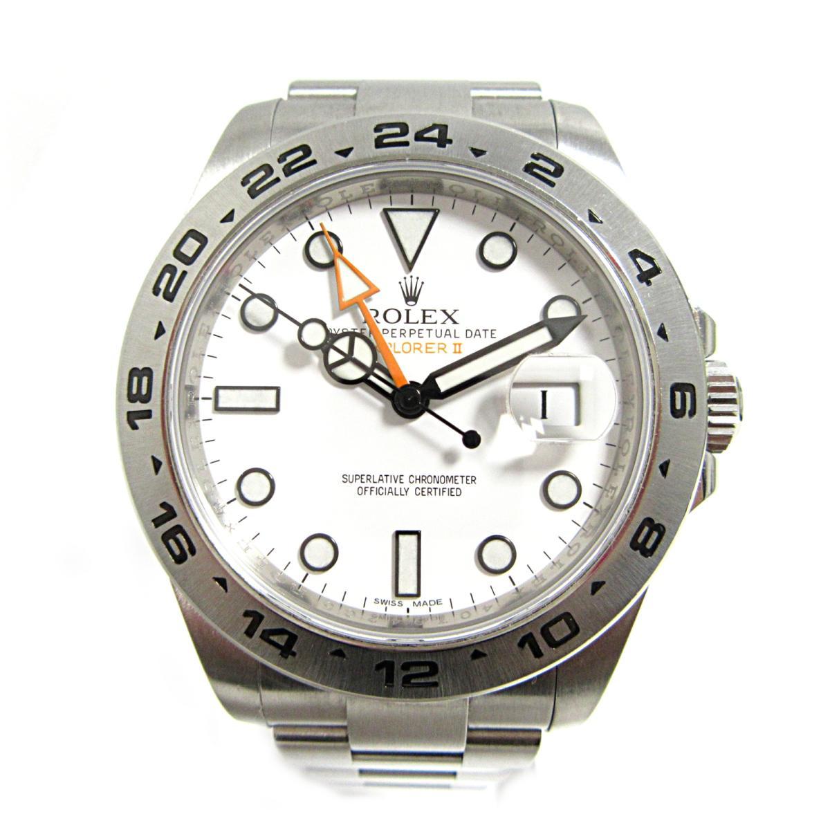 finest selection a8472 bb7d7 【中古】ロレックス エクスプローラー2 腕時計 ウォッチ メンズ 時計 メンズ ステンレススチール(SS) ...