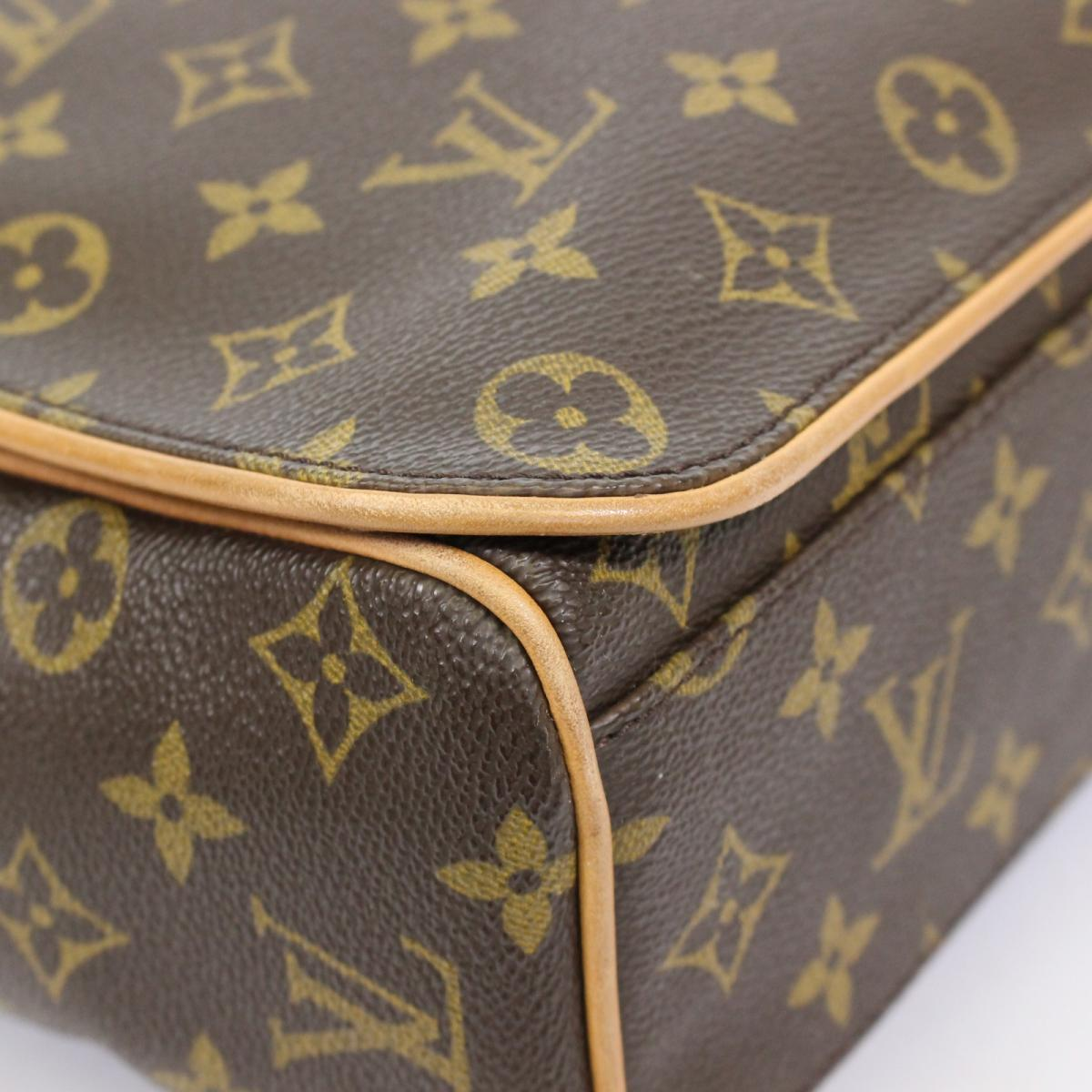 b81c40869b53 (Free shipping) Auth LOUIS VUITTON Abbesses Messenger Crossbody Shoulder  Bag M45257 Monogram LV