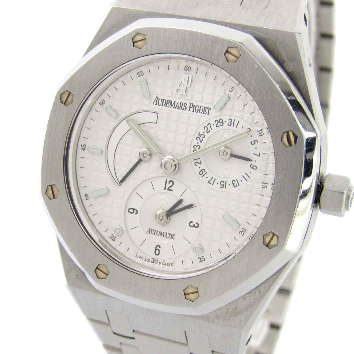 7f75d5c9c723 (Free shipping) Auth AUDEMARS PIGUET Royal Oak dual time watch 25730 ST.0  Automatic (SS) Used