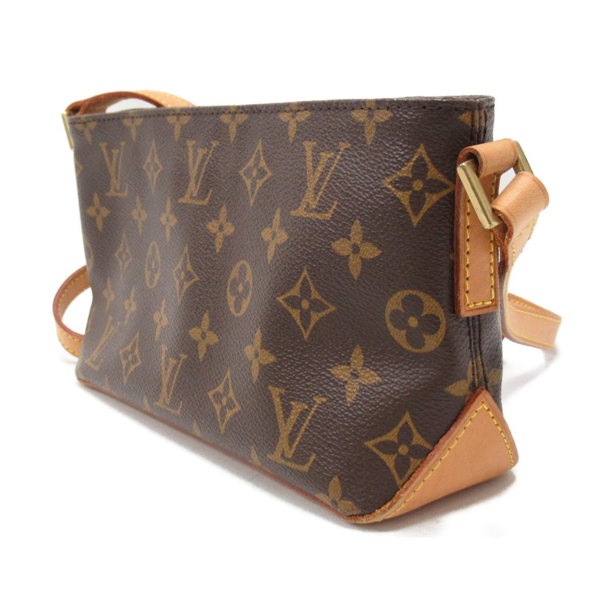 4ce82be0d8af (Free shipping) Auth LOUIS VUITTON Trotteur Crossbody Shoulder Bag M51240  Monogram Used LV