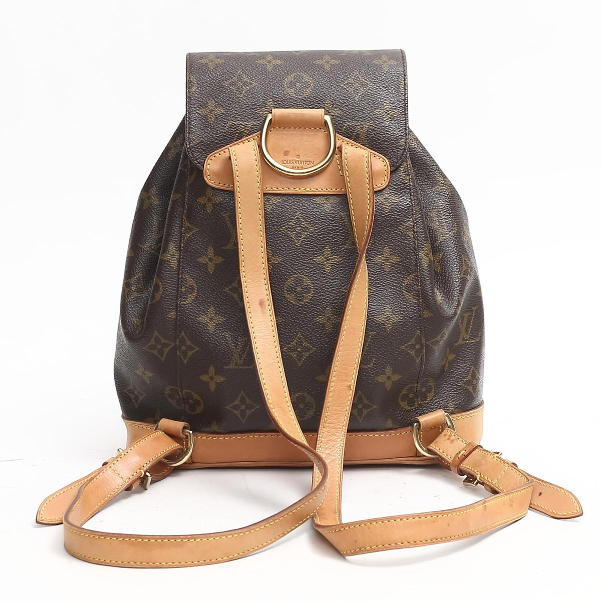 5a6aacca90ad BRANDOFF  Auth LOUIS VUITTON Monsuri MM Backpack M51136 Monogram Used  Vintage