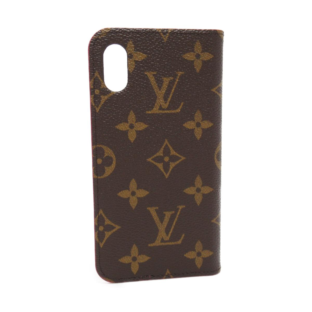 the latest 810bc b7e63 Louis Vuitton IPHONE X&XS, folio iPhone case wallet men gap Dis monogram  Rose (M63444) | LOUIS VUITTON BRANDOFF brand off Vuitton Vuitton Louis ...
