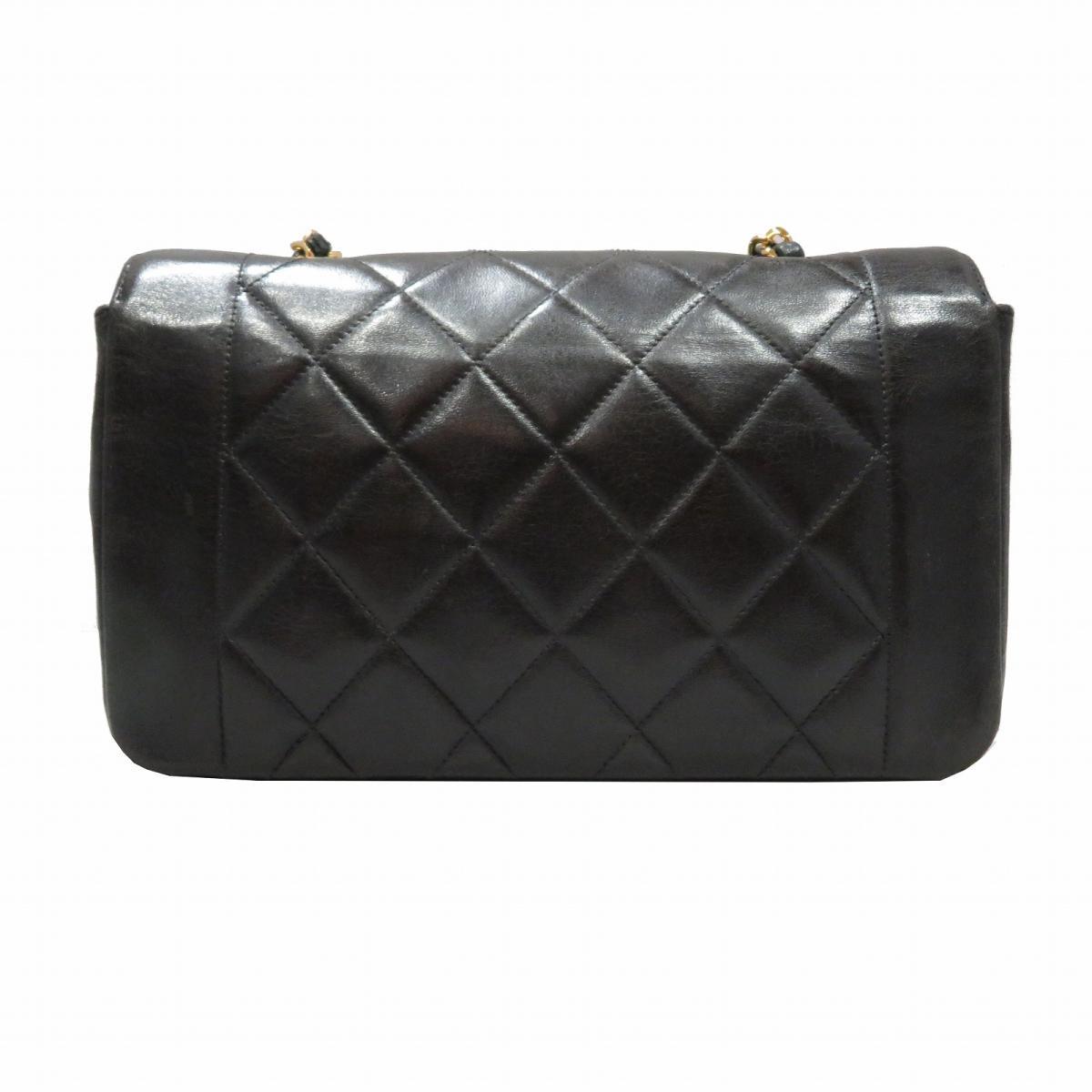 e22553cc620cae BRANDOFF: Auth CHANEL Matelasse CC chain shoulder bag Sheep leather (lamb)  Black Used Vintage | BRANDOFF Ginza/TOKYO/Japan | Rakuten Global Market