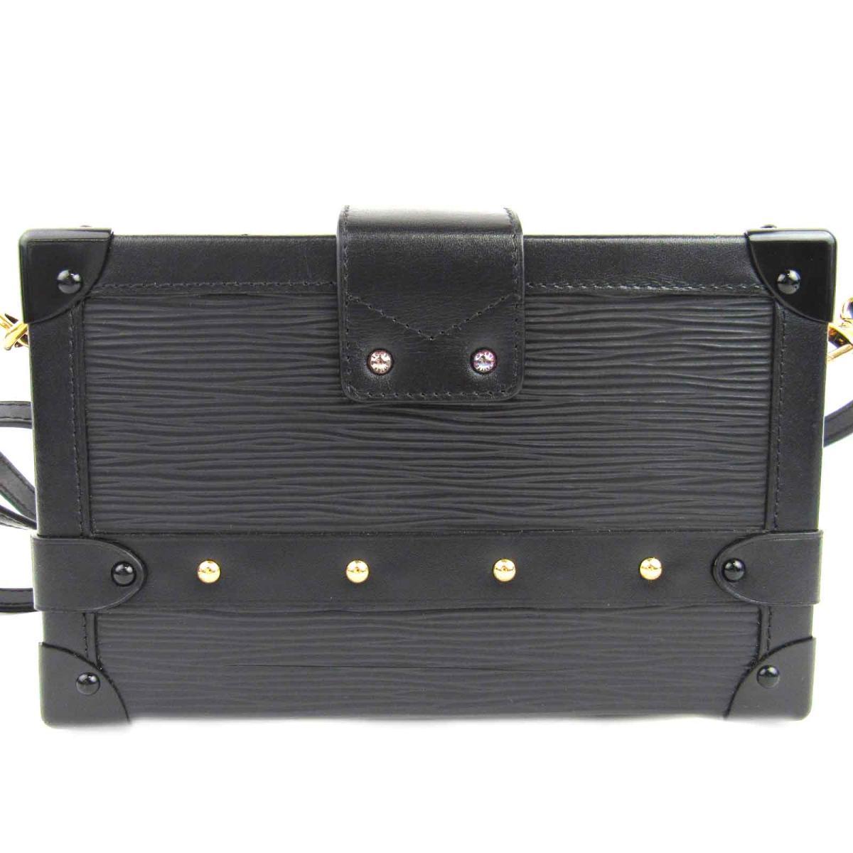 ccb4d47e0e8 BRANDOFF: Auth LOUIS VUITTON Petite Malle Shoulder bag box M5001N Epi Noir  Used   BRANDOFF Ginza/TOKYO/Japan   Rakuten Global Market