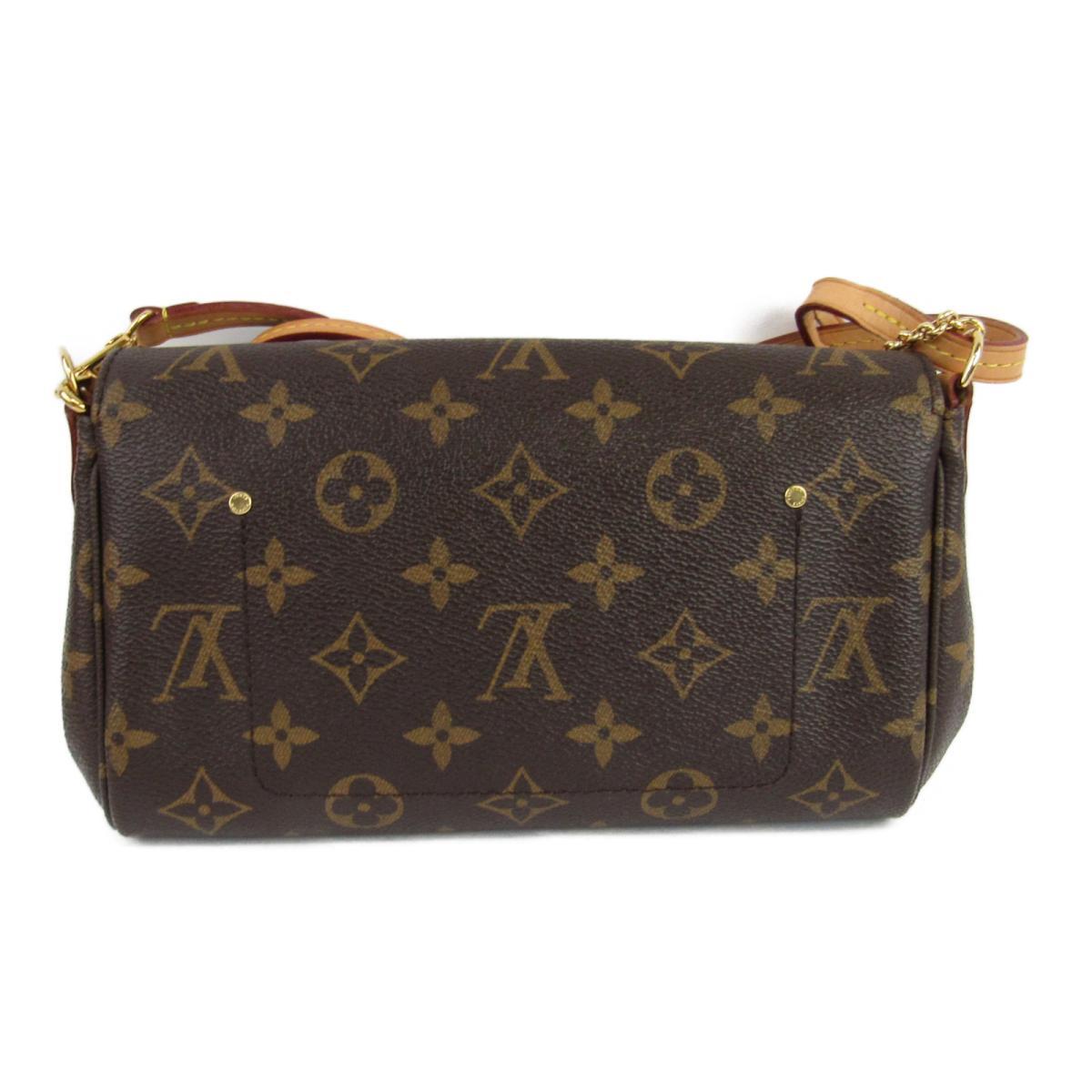 d2d35f58a847 BRANDOFF  Auth LOUIS VUITTON Favorite PM 2way Hand Shoulder Bag Monogram  Canvas M40717