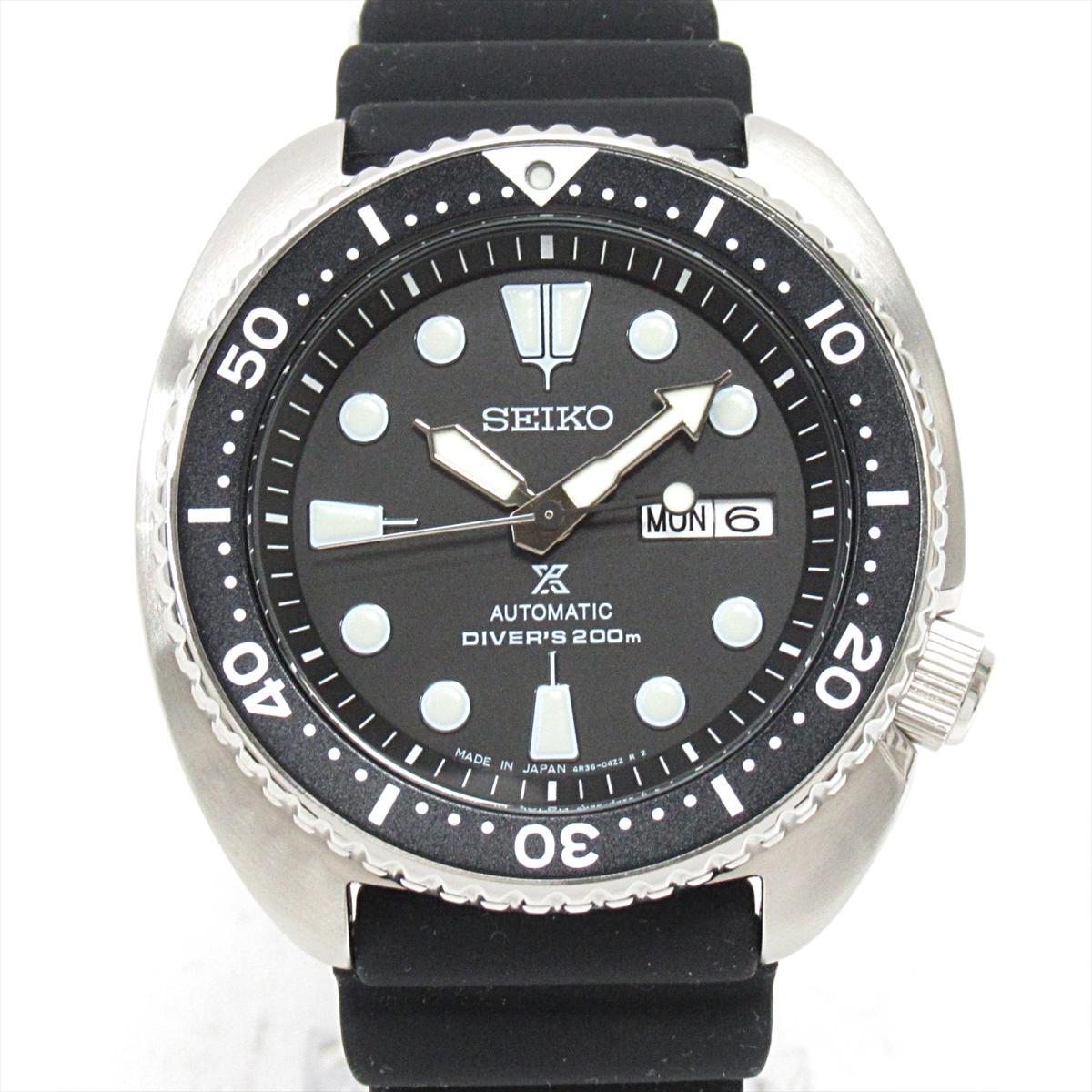 セイコー プロスペックス 腕時計 ウォッチ 時計 メンズ ステンレススチール (SS) xラバーベルト (SRP777)   SEIKO BRANDOFF ブランドオフ ブランド ブランド時計 ブランド腕時計