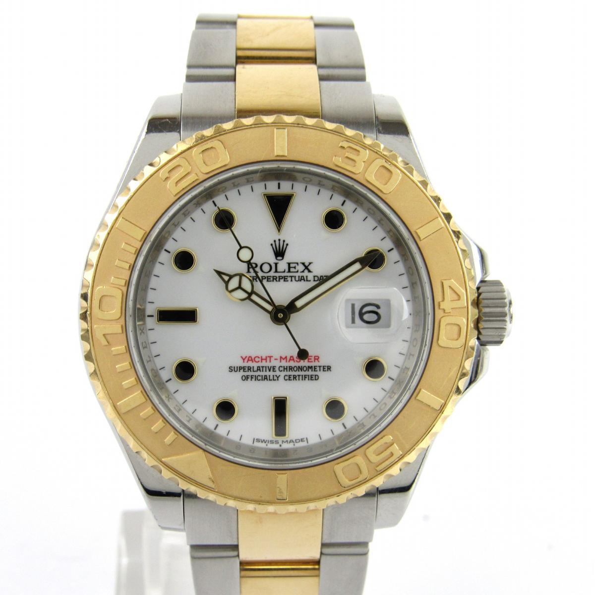 卸売 【】 ロレックス ヨットマスター ウォッチ 腕時計 時計 メンズ K18YG (750) イエローゴールドxステンレススチール (SS) (16623 M番) | ROLEX BRANDOFF ブランドオフ ブランド ブランド時計 ブランド腕時計, 草津町 ba98fbc0