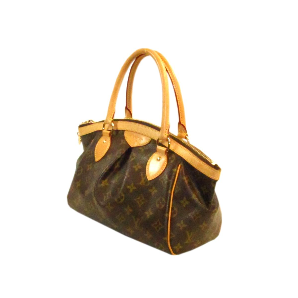 86652e58aae4 BRANDOFF  Auth LOUIS VUITTON Tivoli PM handbag M40143 Monogram Brown ...