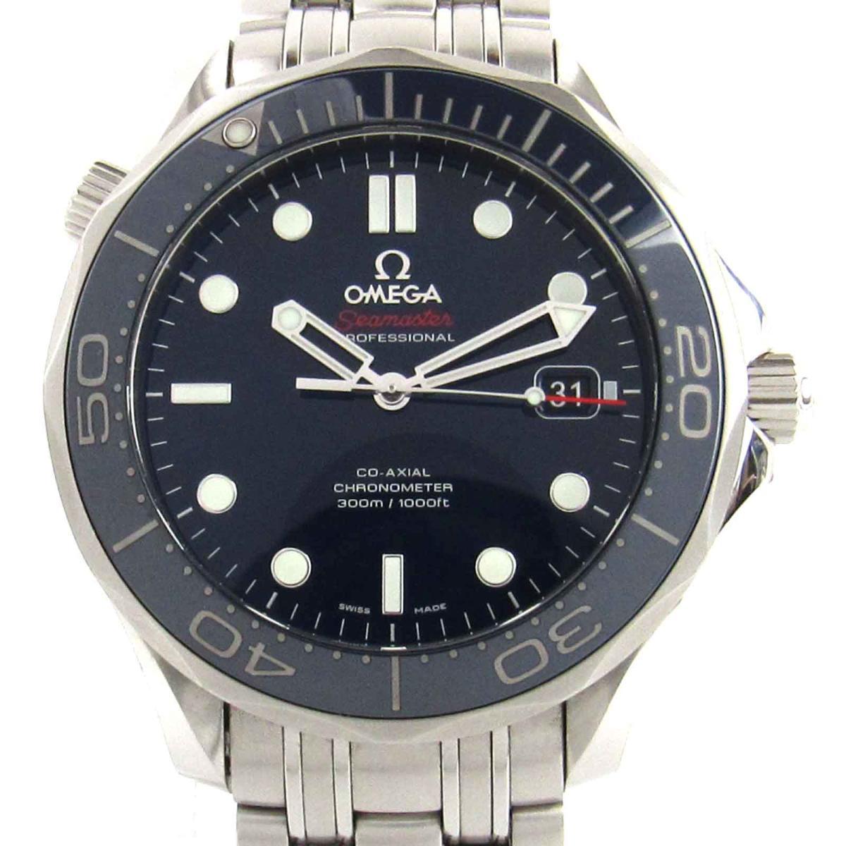 【中古】 オメガ シーマスター コーアクシャル ウォッチ 腕時計 時計 メンズ ステンレススチール (SS) (212.30.41.20.03.001)   OMEGA BRANDOFF ブランドオフ ブランド ブランド時計 ブランド腕時計