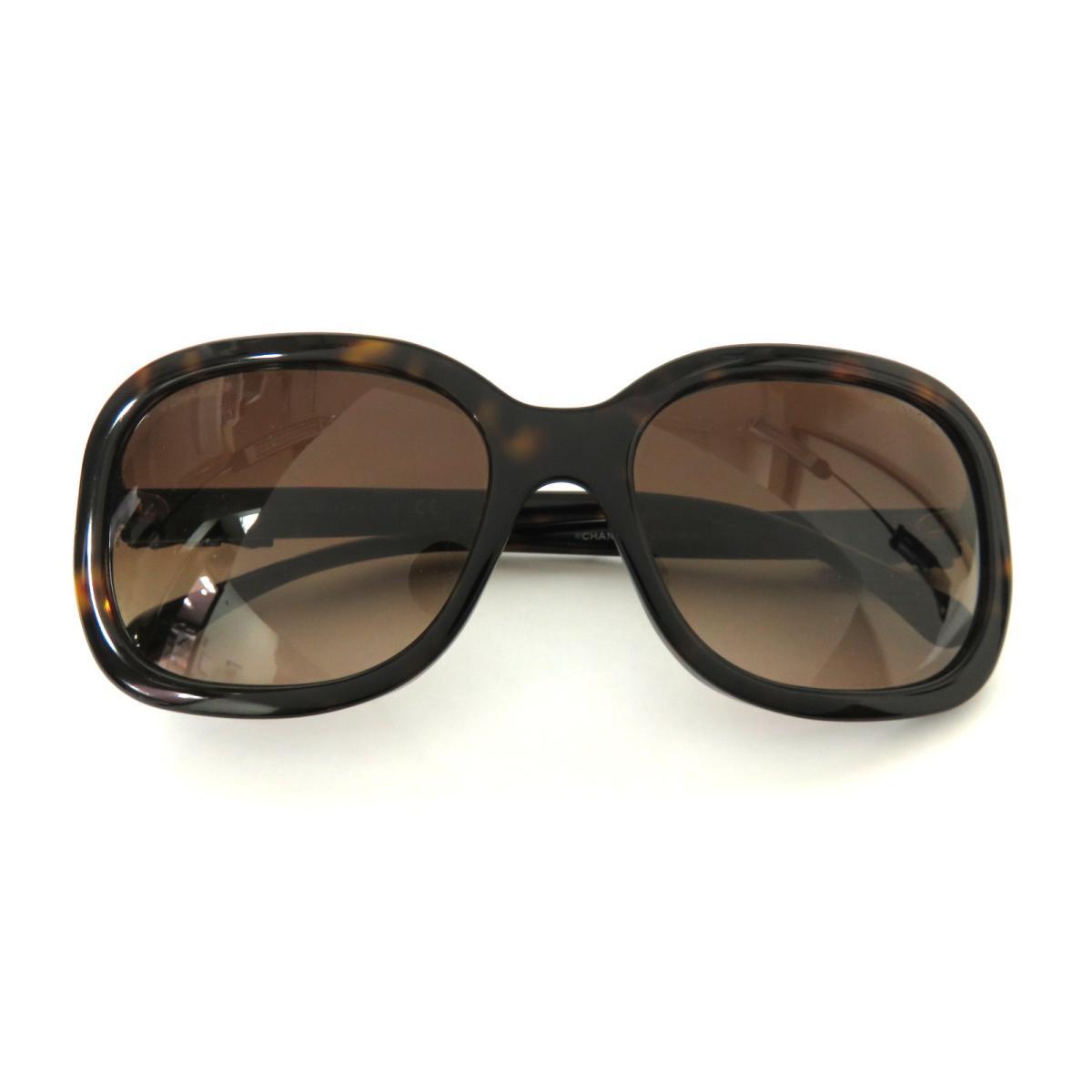 【中古】 シャネル サングラス その他 レディース プラスチック ブラウン (5280-Q-A) | CHANEL BRANDOFF ブランドオフ ブランド ブランド雑貨 小物 雑貨 眼鏡 メガネ めがね