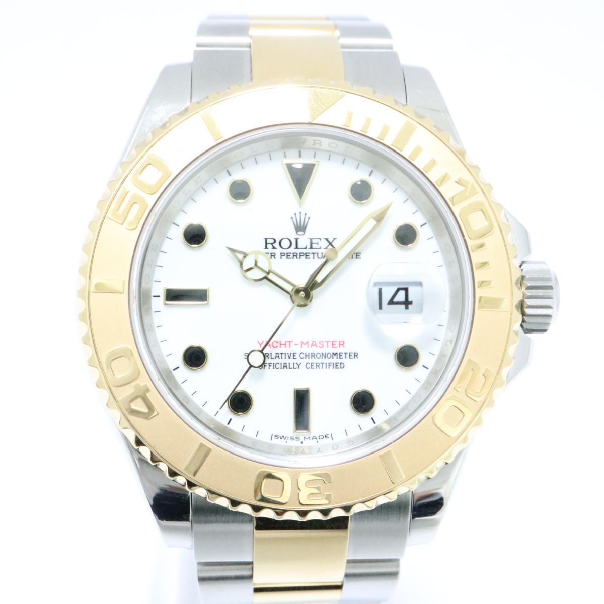 ロレックス ヨットマスター ウォッチ 腕時計 時計 メンズ K18YG (750) イエローゴールド × SS (16623) 【中古】 | ROLEX BRANDOFF ブランドオフ ブランド ブランド時計 ブランド腕時計