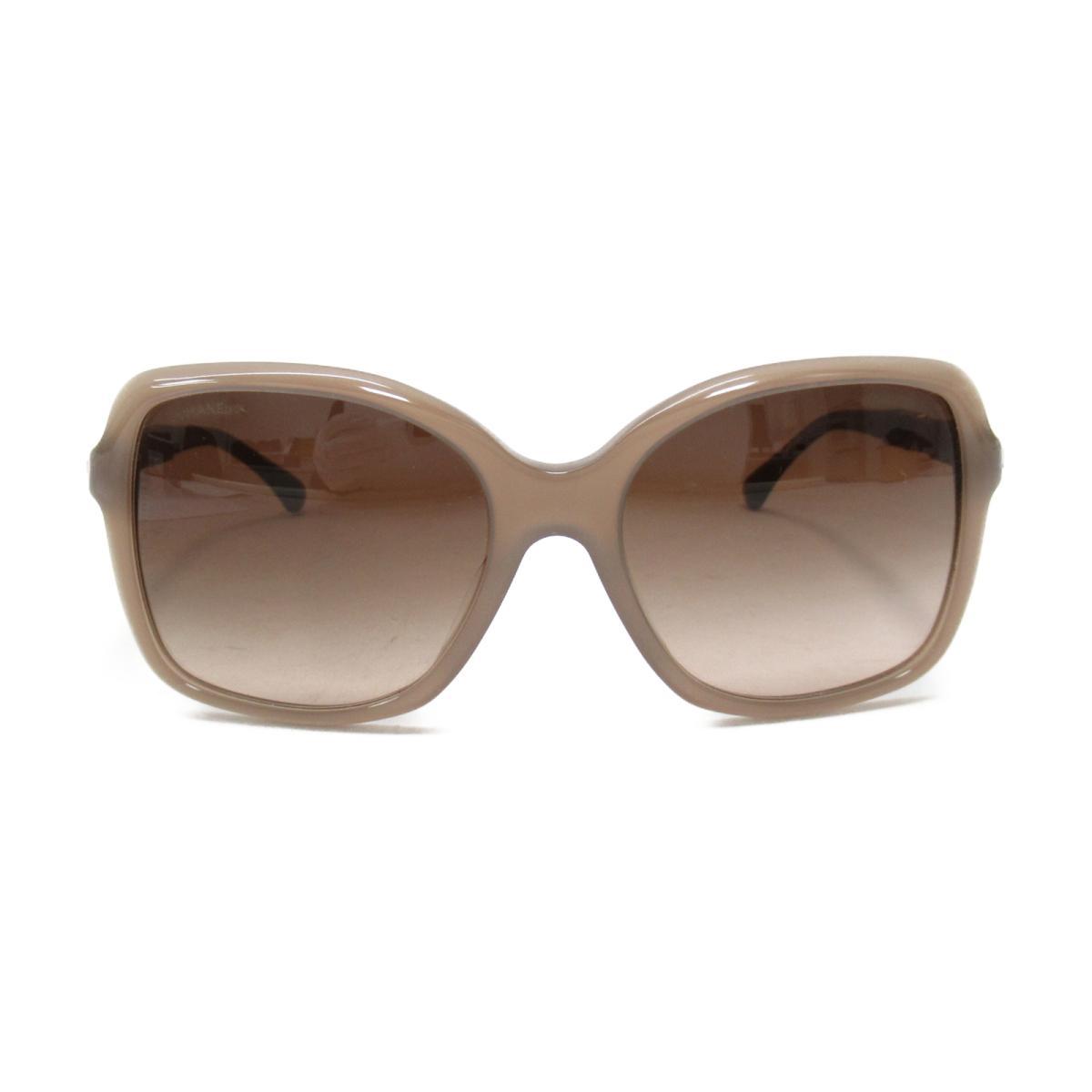 シャネル サングラス アクセサリー レディース プラスチック ブラウン系 (5308-B-A c.1416/S5) 【中古】   CHANEL BRANDOFF ブランドオフ ブランド ブランド雑貨 小物 雑貨 眼鏡 メガネ めがね
