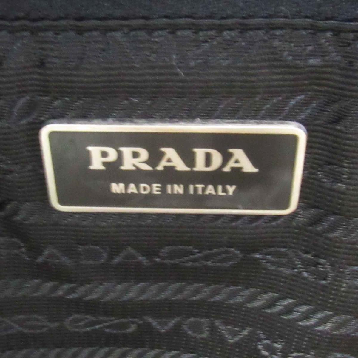 814a8a1db81d2e Prada nylon Boston bag bag men gap Dis nylon x サフィアーノレザーブラック | Trip to PRADA  BRANDOFF brand off-brand brand bag back Boston bag is large- ...