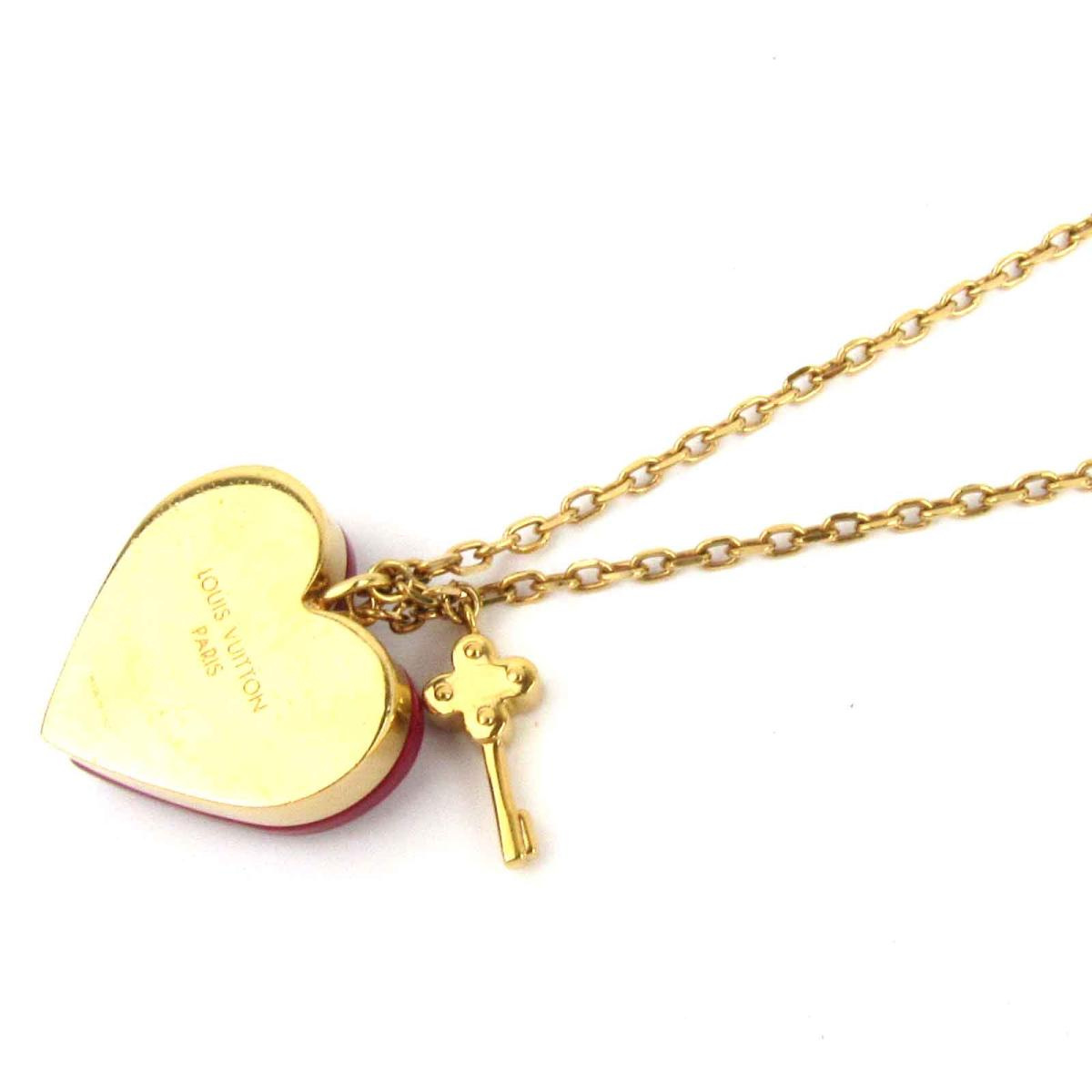 Louis Vuitton Bakery Dan TIFF lock me necklace accessories Lady's GP (gold  plating) (M66516)