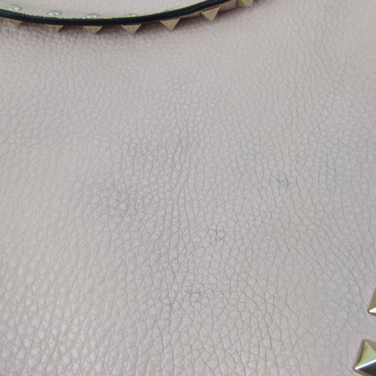 ヴァレンチノ スタッズ 2way ショルダーバッグ バッグ レディース レザーxスタッズ ピンクVALENTINO BRANDOFF ブランドオフ ブランド ブランドバッグ バック ショルダーバック ショルダー 肩掛けUzMpSGqV