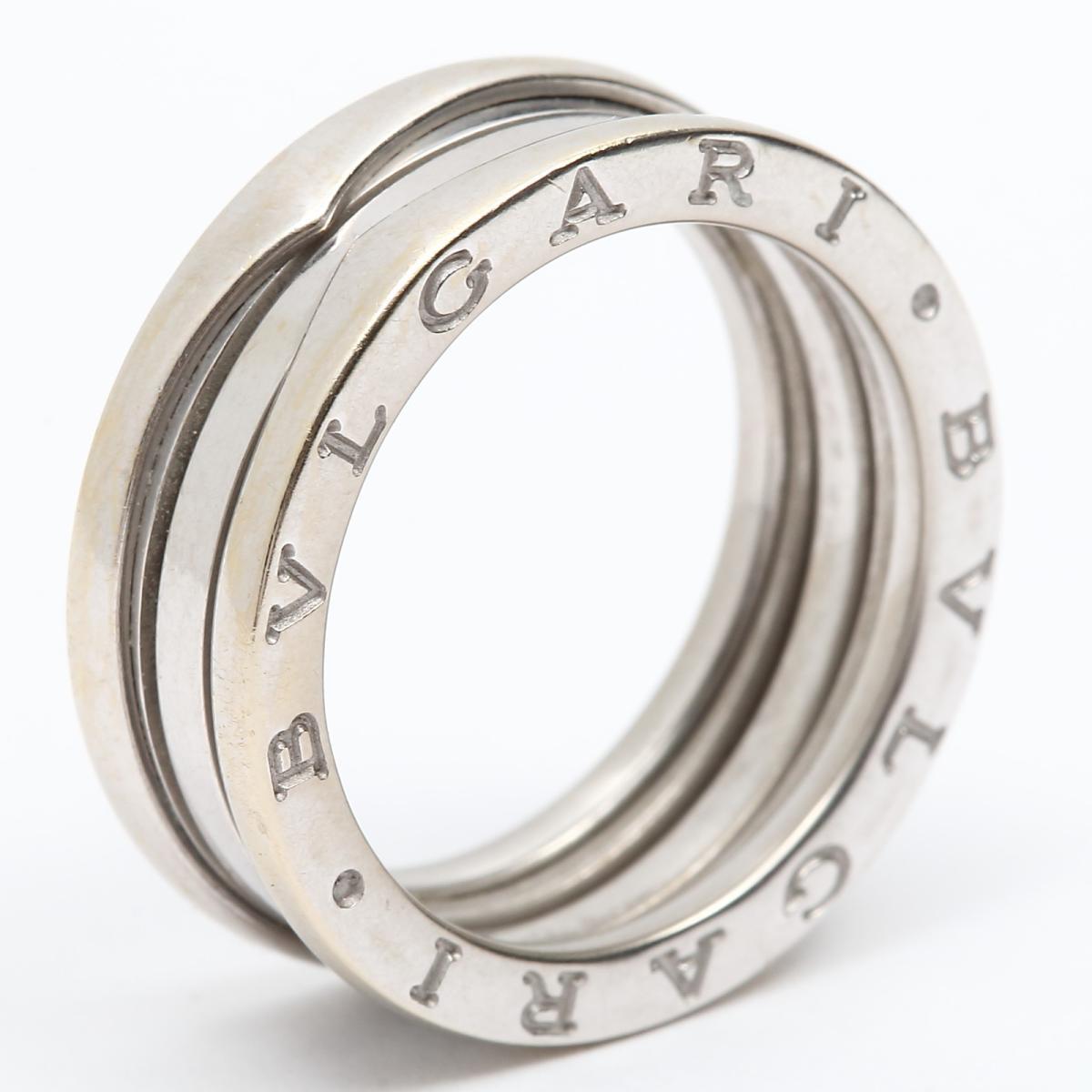26767449f04e 楽天市場】【中古】 ブルガリ B-zero1 リング Sサイズ ビーゼロワン 指輪 ...