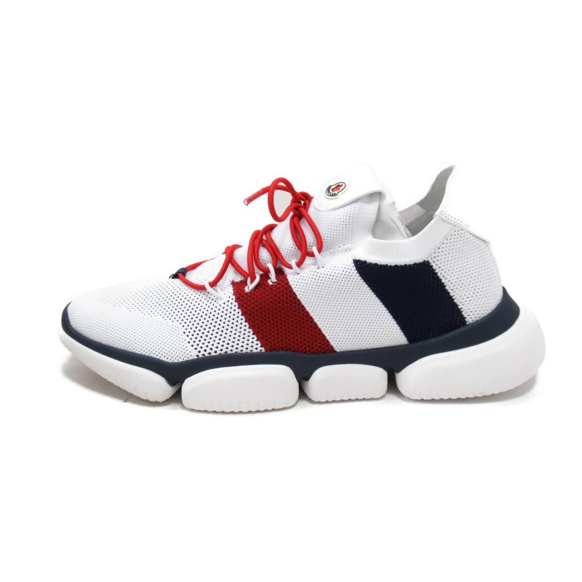 5c75ac77fad ... Monk rail sneakers or other men's fabric men white x navy x red  (1036200) ...