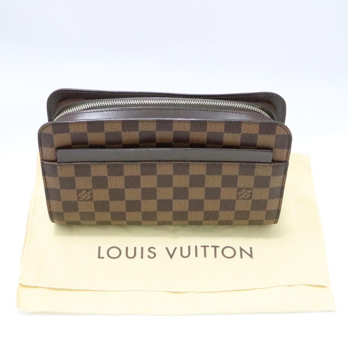 98004bc0a9 ... Auth LOUIS VUITTON Saint Louis Shoulder Bag N51993 Damier Used Vintage  | BRANDOFF Ginza/TOKYO