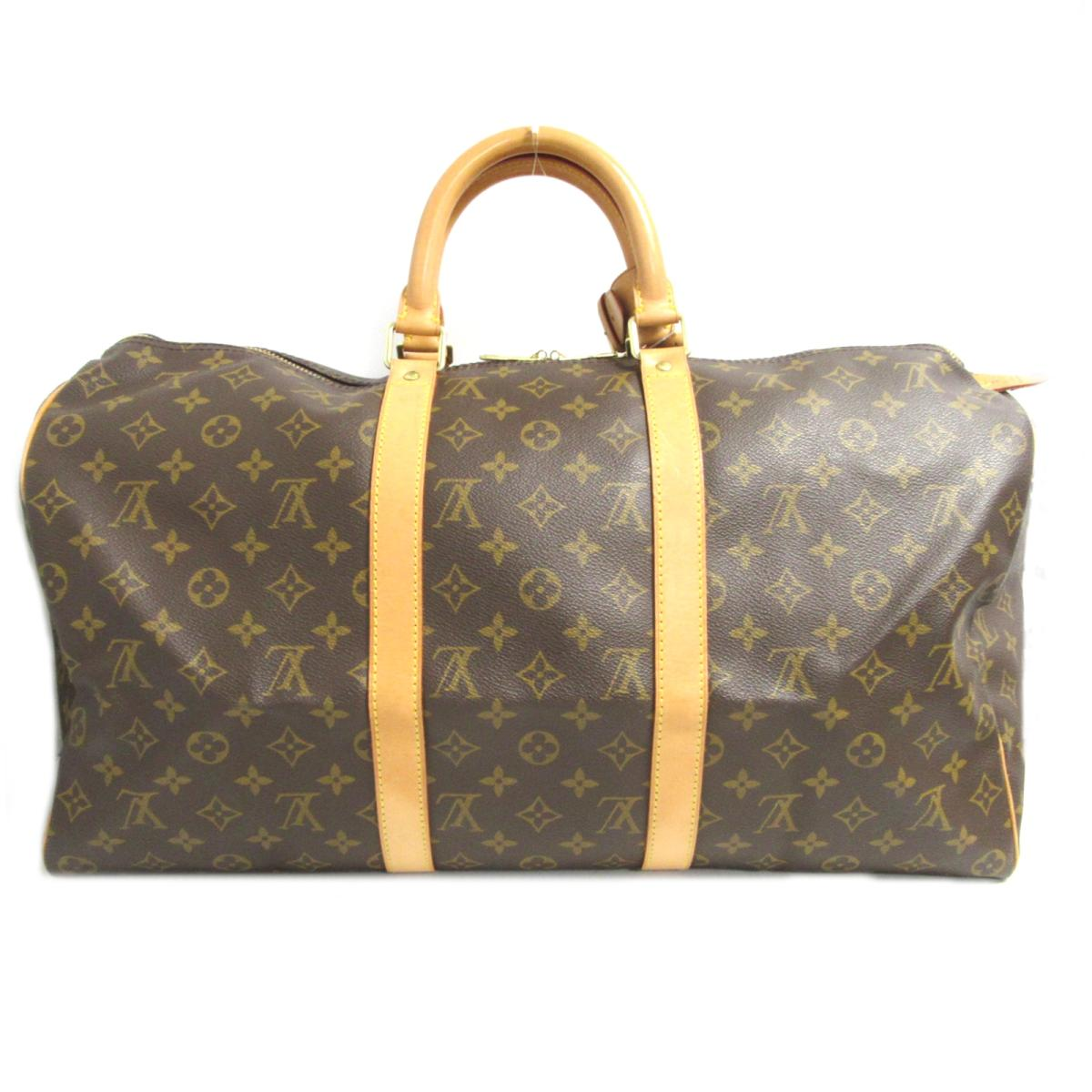 3a8be0e3c62 Auth LOUIS VUITTON Keepall 50 Travel Boston Hand Bag M41426 Monogram Canvas  Used LV | BRANDOFF Ginza/TOKYO/Japan