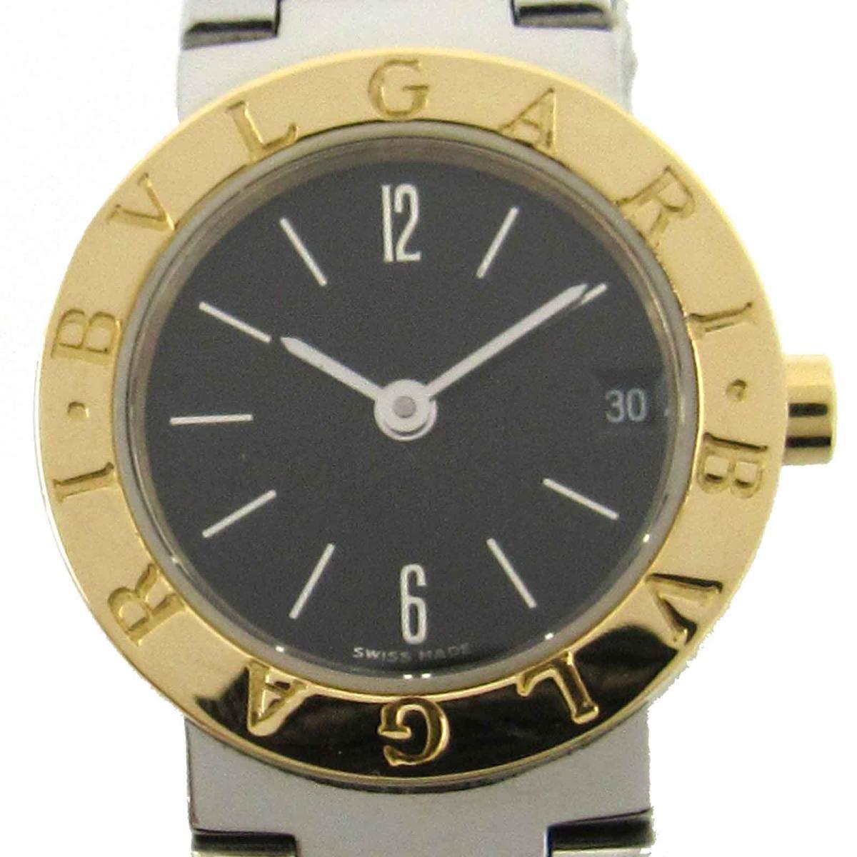 【中古】ブルガリ ブルガリ ブルガリ ウォッチ 時計 時計 レディース K18YG(750)イエローゴールドxステンレススチール(SS) (BB23SGD)
