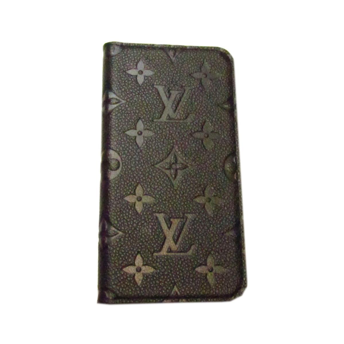 ルイヴィトン アイフォンXRフォリオ スマートフォンケース 財布 メンズ レディース モノグラム・アンプラント ノワール (M67492) | LOUIS VUITTON BRANDOFF ブランドオフ ヴィトン ビトン ルイ・ヴィトン スマートフォン カバー ケース