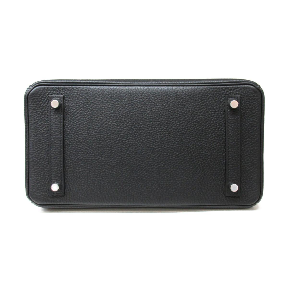 エルメス バーキン30 ハンドバッグ バッグ レディース トゴ ブラック (金具:シルバー) | HERMES BRANDOFF ブランドオフ ブランド ブランドバッグ バック ハンドバック ハンド