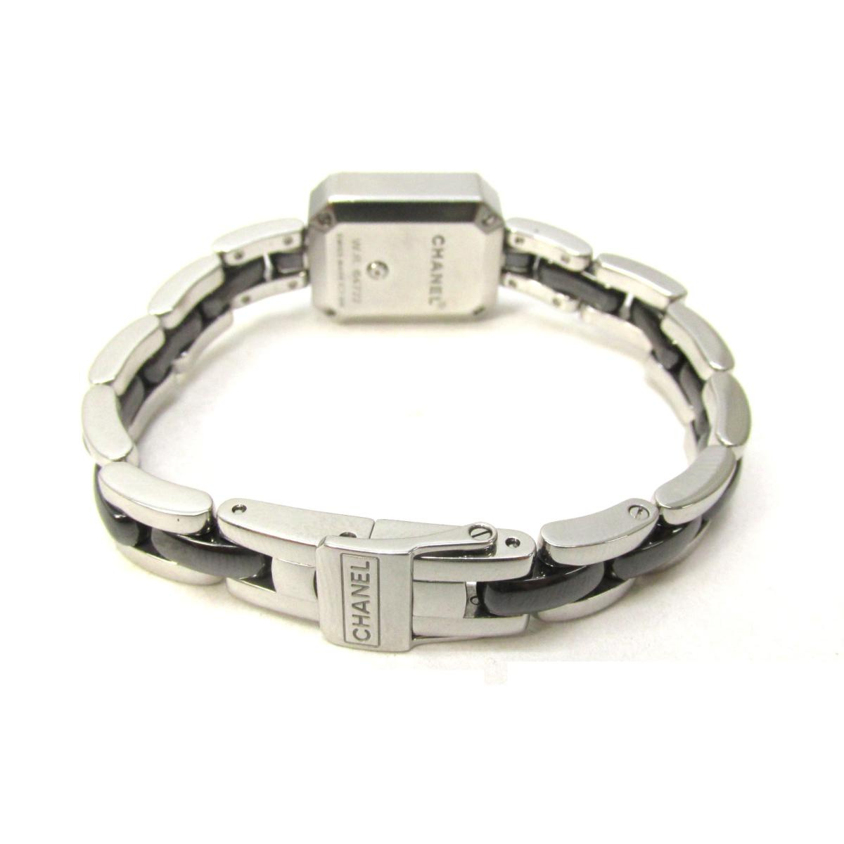 af9809ec Auth CHANEL Premiere Diamond Bezel Wrist Watch H2163 Black SS/Ceramic For  Ladies | BRANDOFF Ginza/TOKYO/Japan