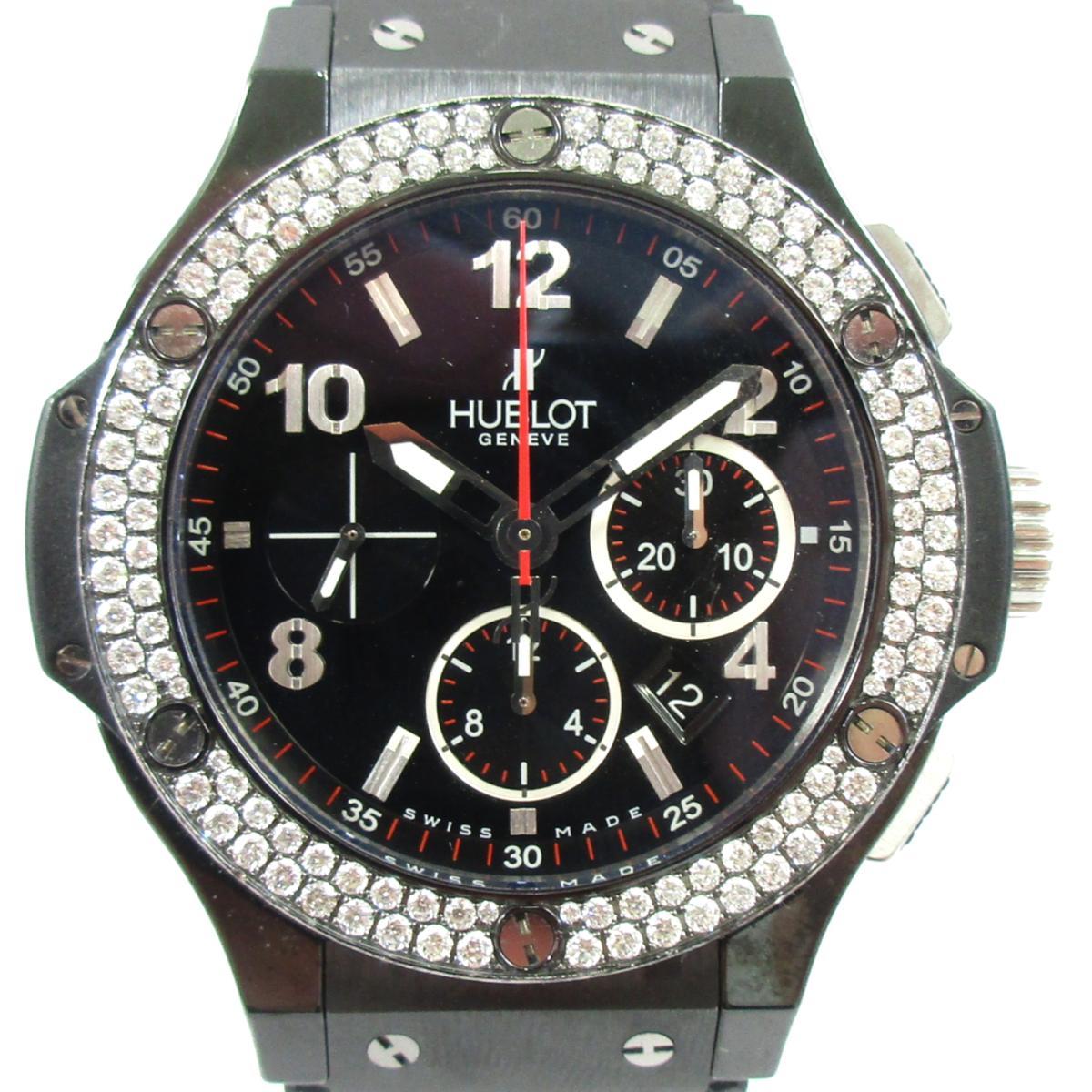 【25%OFF】 ウブロ ビッグバン ブラックマジック 裏スケルトン 腕時計 時計 メンズ ステンレススチール (SS) XラバーベルトXダイヤモンド ブラック (301.CV.130.RX.11) 【】 | HUBLOT BRANDOFF ブランドオフ ブランド ブランド時計 ウォッチ, ワジキチョウ 06da582d
