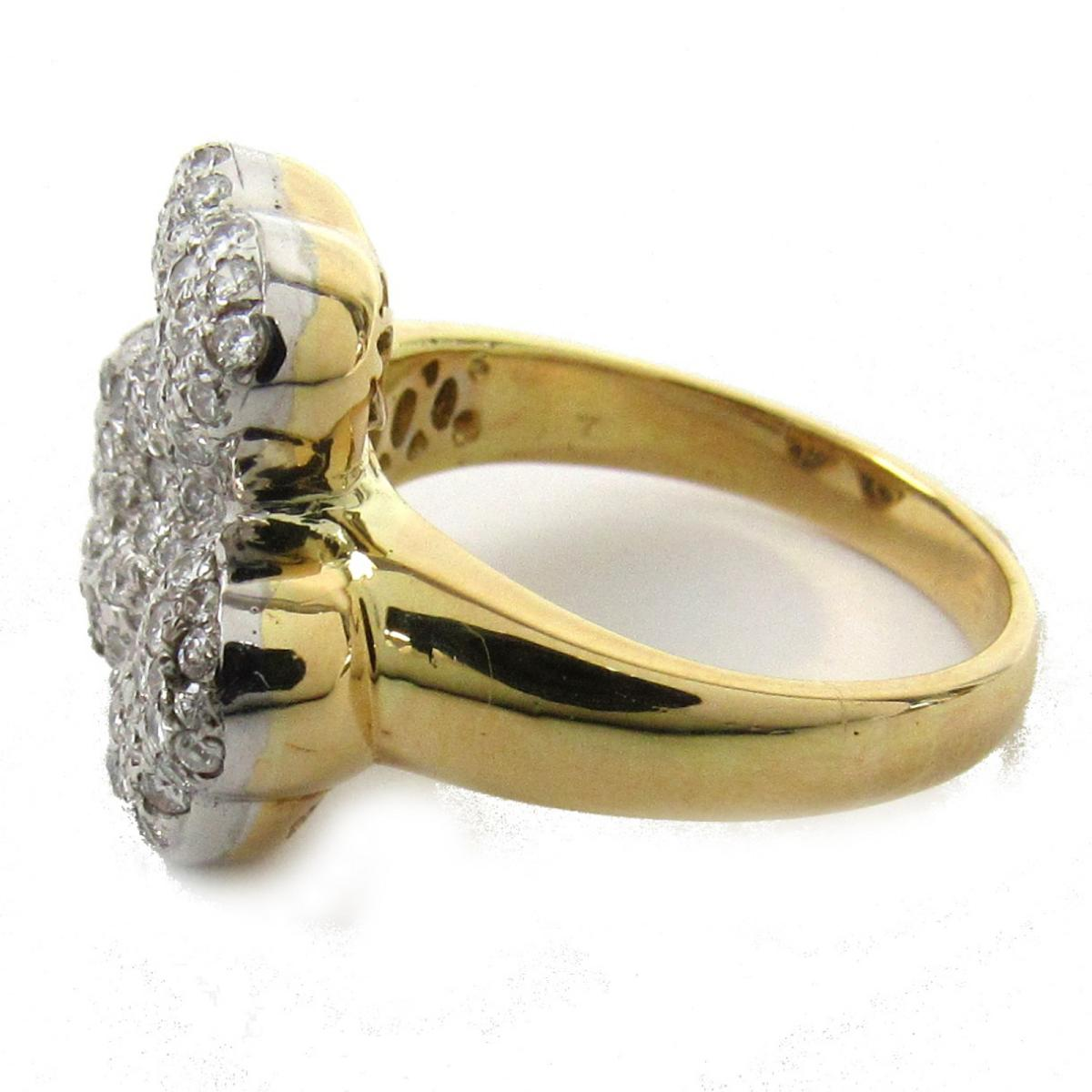 ジュエリー ダイヤモンド リング 指輪 ノーブランドジュエリー レディース K18 x ダイヤモンド0 79ctJEWELRY BRANDOFF ブランドオフ アクセサリーdrxoeCBW