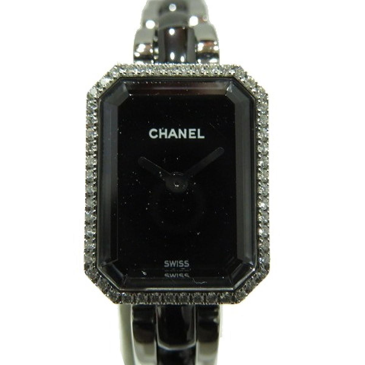完売 シャネル プルミエールダイヤベゼル ウォッチ 腕時計 時計 レディース ステンレススチール (SS) × セラミック (H2163) 【】 | CHANEL BRANDOFF ブランドオフ ブランド ブランド時計 ブランド腕時計, INFINITY Co.,Ltd. 9694bd81
