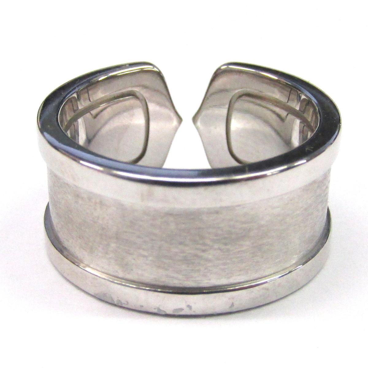 カルティエ C2 リング 指輪 ブランドジュエリー レディース K18WG750ホワイトゴールドCartier BRANDOFF ブランドオフ ブランド ジュエリー アクセサリーuXZPkiO