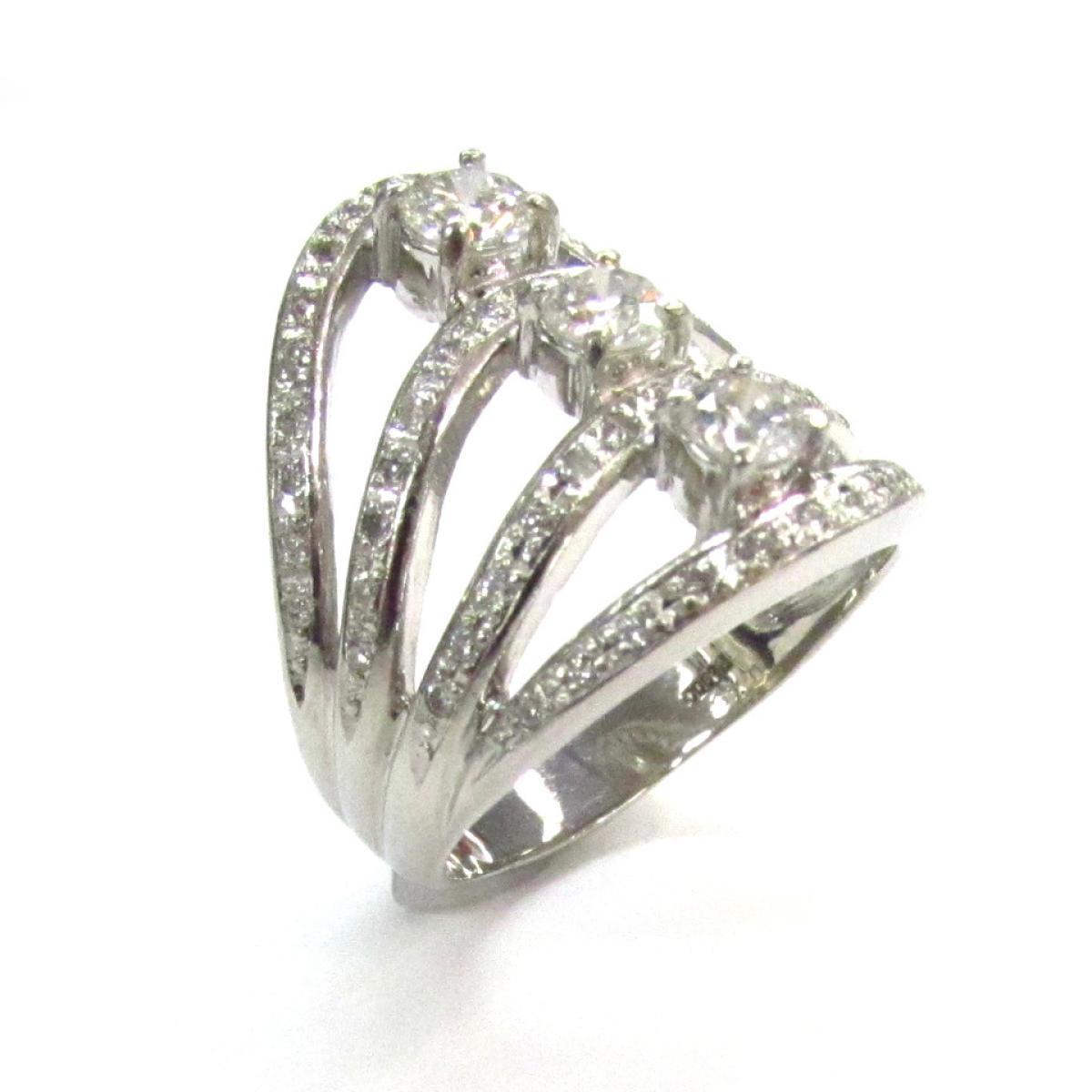 ジュエリー ダイヤモンド リング 指輪 ノーブランドジュエリー レディース PT900 プラチナ (0.404ct   JEWELRY BRANDOFF ブランドオフ アクセサリー