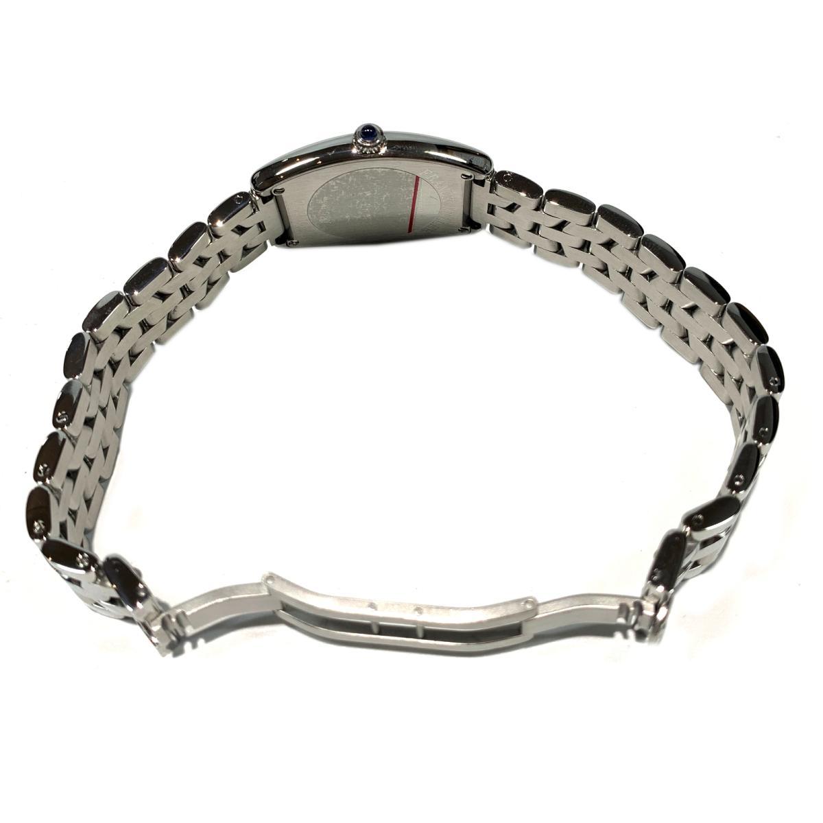フランク・ミュラー トノーカーベックス 腕時計 ウォッチ 時計 レディース ステンレススチール SSシルバー1752QZrCWQedBox
