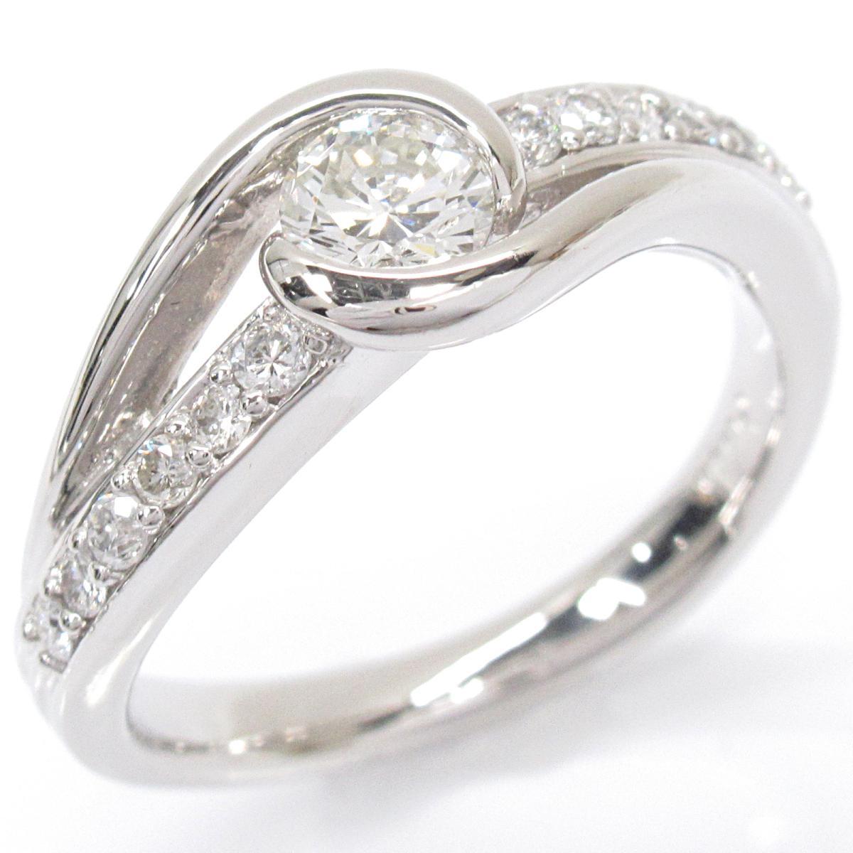 ジュエリー ダイヤモンドリング 指輪 ノーブランドジュエリー レディース PT900 プラチナxダイヤモンド (0.346 | JEWELRY BRANDOFF ブランドオフ アクセサリー リング