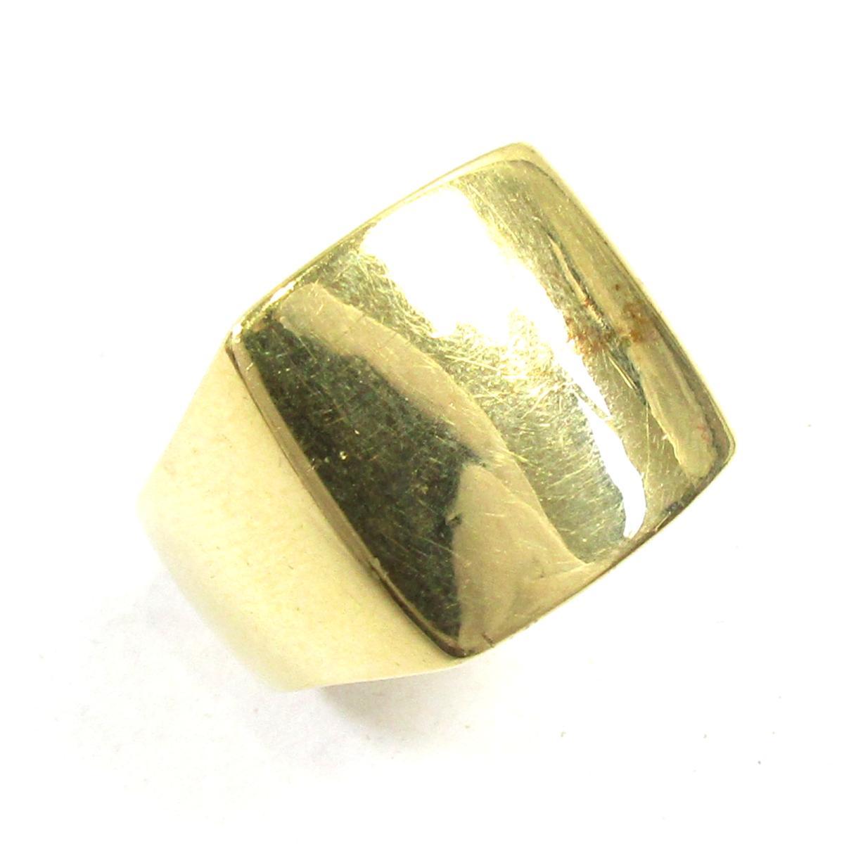 ジュエリー K18リング 指輪 ノーブランドジュエリー メンズ K18YG (750) イエローゴールド ゴールド 【中古】   JEWELRY BRANDOFF ブランドオフ レディース アクセサリー リング