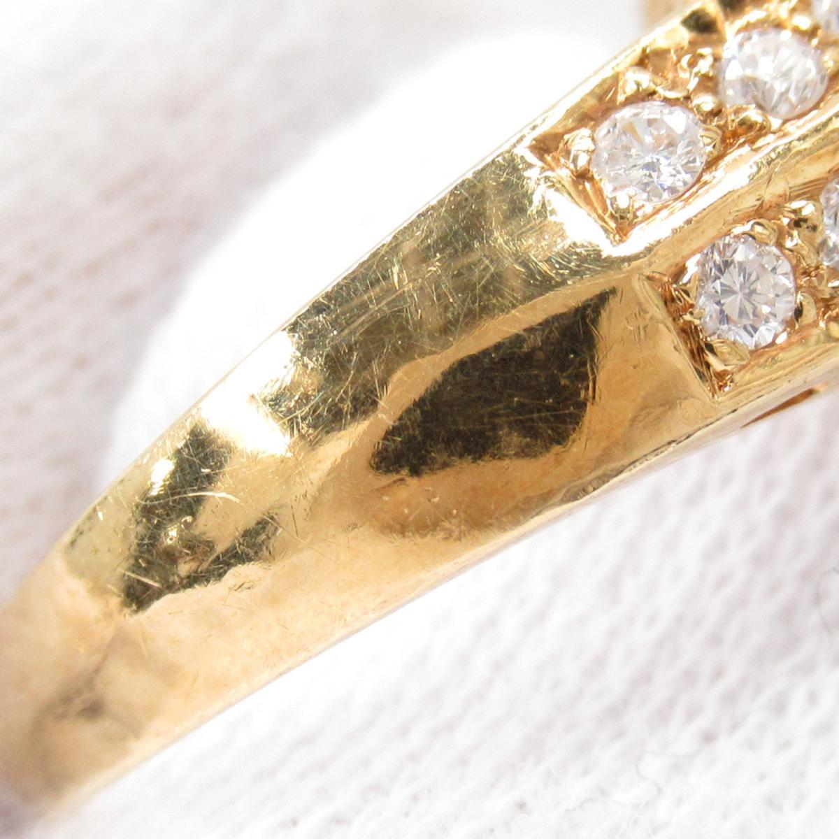 ジュエリー サファイア リング 指輪 ノーブランドジュエリー レディース K18YG750イエローゴールド x1 25ctダイヤモンド1 22ctJEWELRY BRANDOFF ブランドオフ アクセサリーPkXuZi